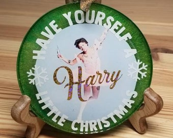 Have Yourself a Harry Little Christmas Ornament︴Tutu Harry Styles Christmas Ornament︴One Direction Christmas Gift︴Gift for One Direction Fan
