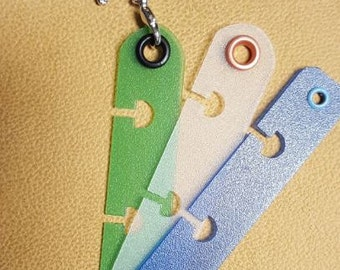 Charm-holder 3-pack for Discbound Planners and Notebooks