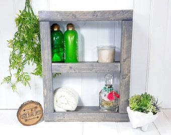 Bathroom Shelf, Bathroom Shelves, Bathroom Storage, Rustic Shelves, Wall Shelf, Bathroom Wall Shelf, Rustic Bathroom Shelf, Bathroom Decor
