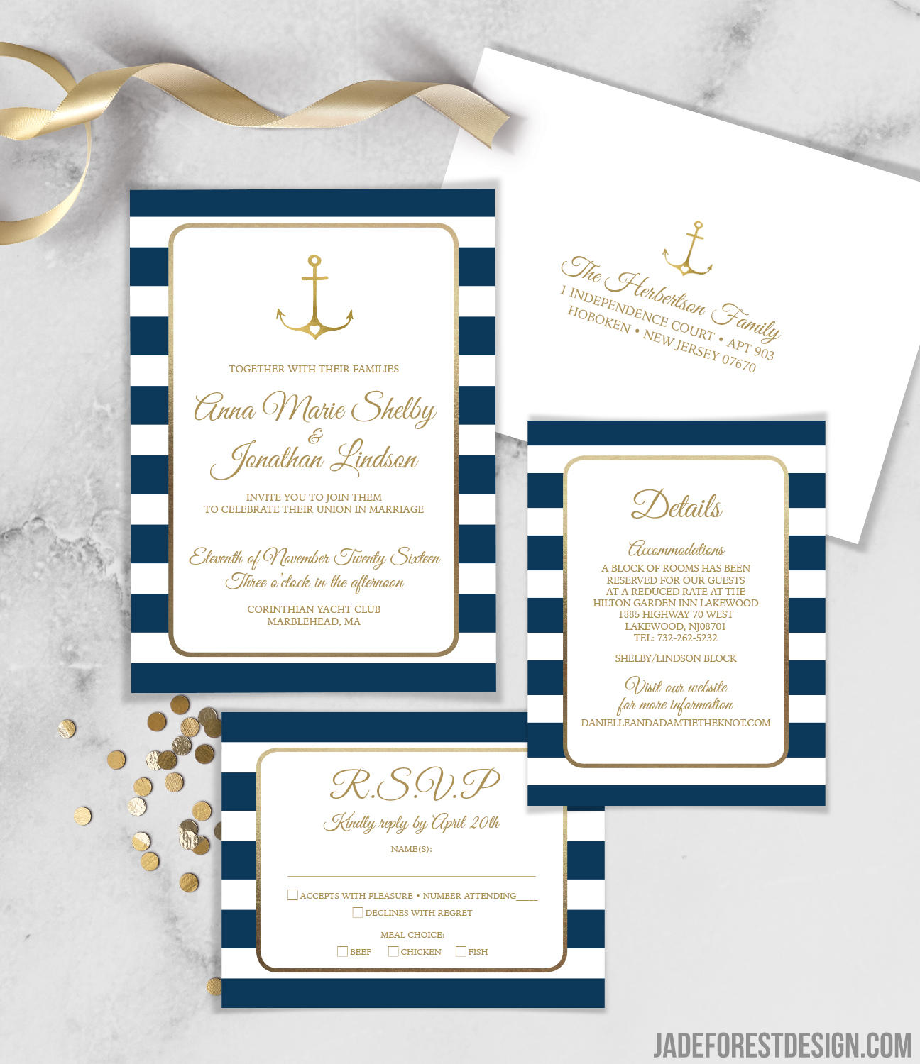 Nautical Wedding Invitations.Nautical Invitation Nautical Wedding Invitations Wedding Invitation Wedding Invites Rsvp Wedding Cards Rsvp Card Personalized Wedding
