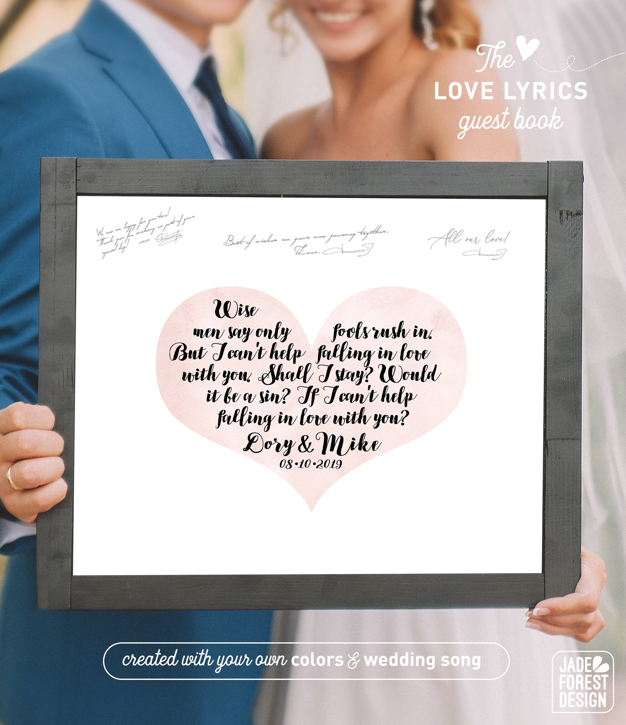 Signal Fire Grey Heart Song Lyric Quote Print