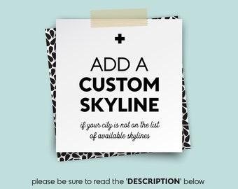 add a custom SKYLINE or LANDMARK (building) • • • add-on {UPGRADE}