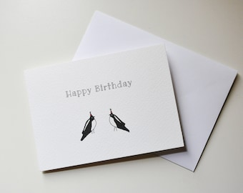 Magpie Happy Birthday Card