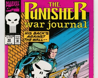 Punisher War Journal #19 Marvel Comics 1988 Series Jim Lee 9.2 Near Mint
