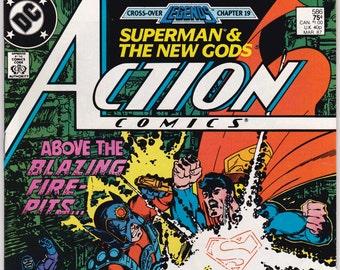 Action Comics 420 Vintage Superman 1973 DC Comic Book-Towbee