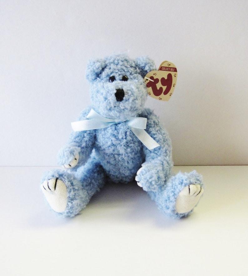 2e5b7369b97 Ty Attic Treasures Bear-Bluebeary-Vintage 1993 Beanie Babies