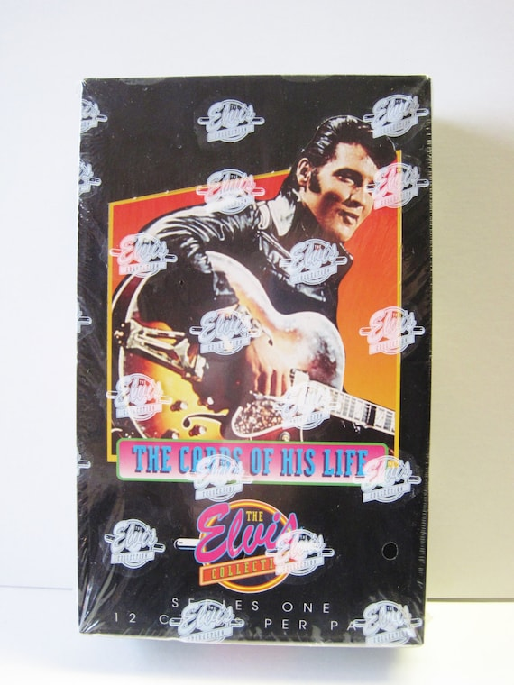 The Elvis Collection Series One Factory Sealed Box Of 36 Packs Etsy