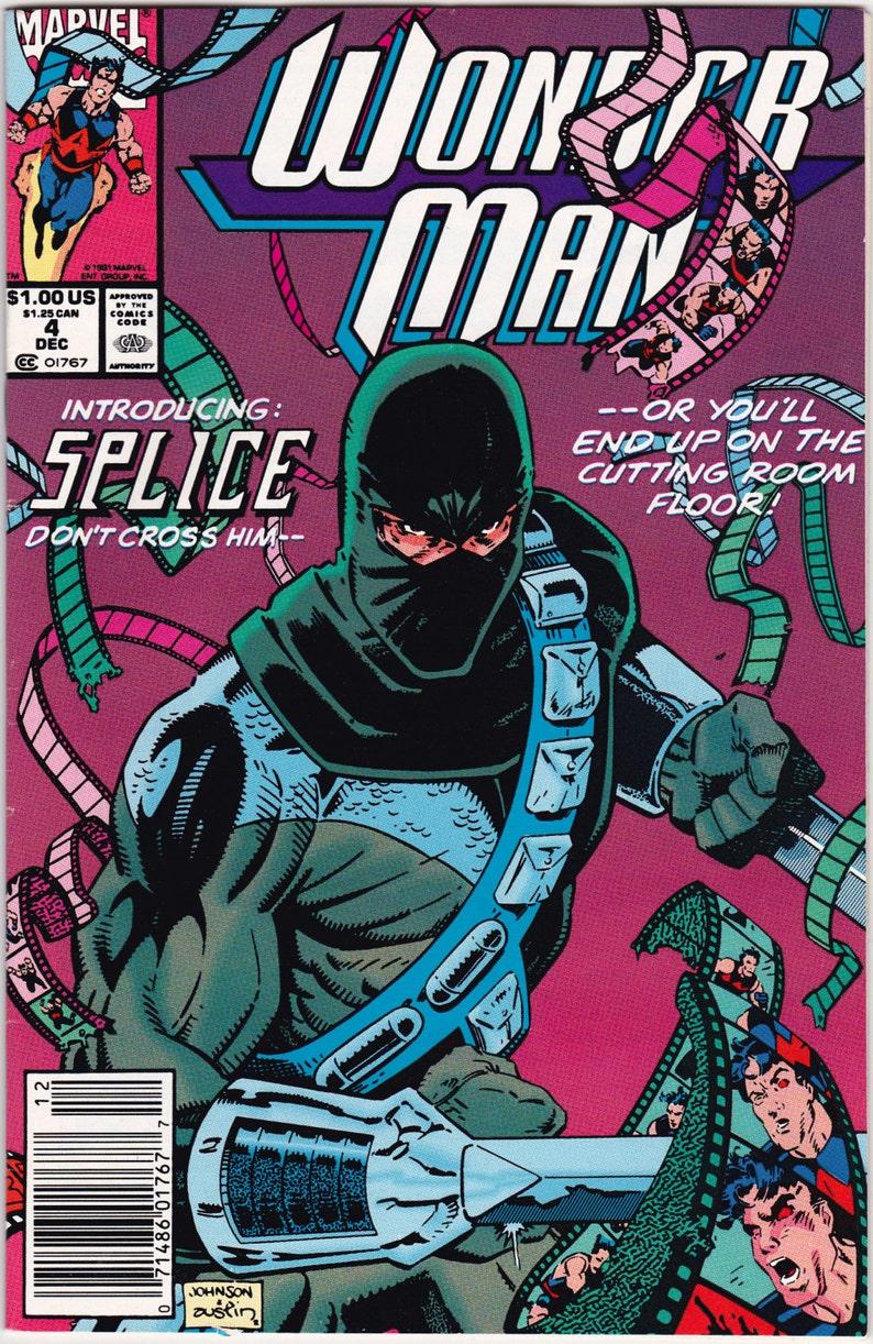 Wonder Man Marvel Comics Choice #2 or #4 or #5 or #6 or #7 F-NM 1991-1992  Vintage Comic Book Avengers West Coast Hawkeye Iron Man Hollywood