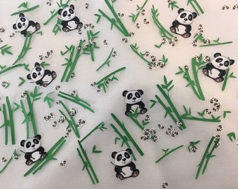 Panda confetti panda ta le confetti panda party panda theme birthday party