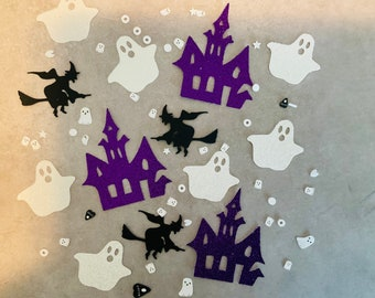 halloween confetti, Halloween party, Halloween party decor, Halloween birthday