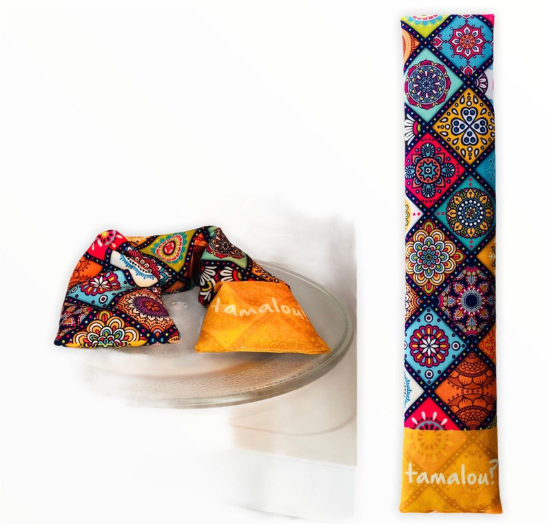 heating pillow Reusable Hot & Cold Compress microwaveable. image 0