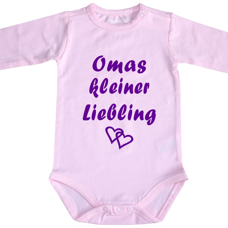 BIO Baby Body Babybody Grandma's Grandpa's Tantes Unkels Mamas Little  Darling-Free Selection-Also With Wish Name-Baby Party