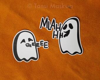 Rez Ghosts Matte Sticker, Canadian-Indigenous Made