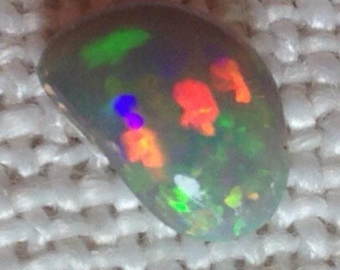 Opal Gemstone- 1.54ct Australian Opal, Lightning Ridge Opal, Solid Opal