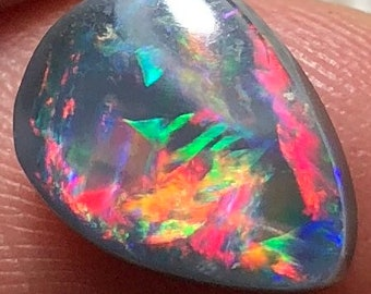 1.94ct Australian Opal Gem with Full Color  Spectrum