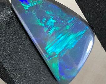 Precious Black Opal Captured the Lost Sea