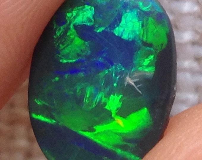 Bright Black Opal 1.17ct