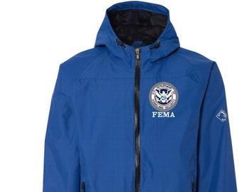 Dept. of Homeland Security FEMA Embroidered Dry Duck Torrent Jacket  D5335-283 9250afde8b
