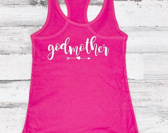Godmother Shirt - Godmother Proposal - Personalized Godmother Gift - Will you be My Godmother.