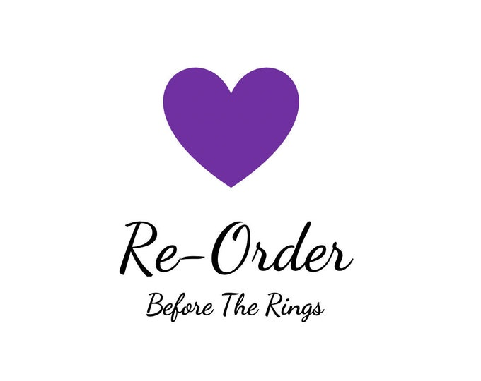 Re-order whole or part of a pre-existing order that was placed