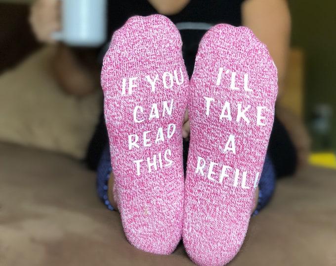 Mother's Day Socks - Wine Lover Socks - Funny gift for mom - Mom wine socks - Cute Mothers Day Gift Idea