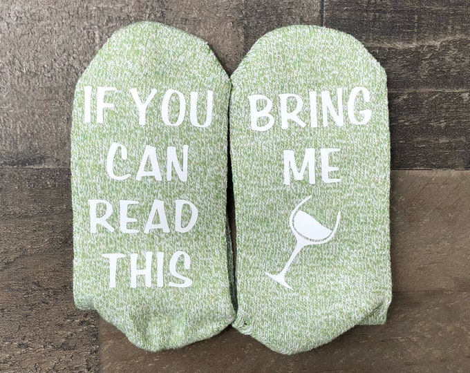 Mother's Day Socks - Wine Lover Socks - Funny gift for mom - Mom wine socks - Cute Mothers Day Gift Idea