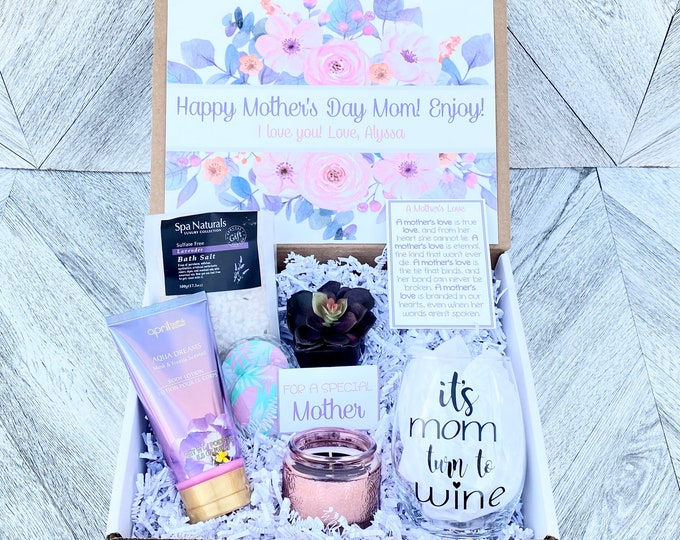 Mother's Day Gift - Mom Spa Gift Set - Pamper Yourself Spa gift box Set