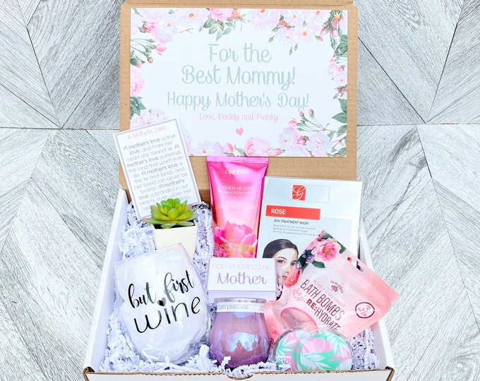 Mom Spa Gift Set - Pamper Yourself Spa gift box  - Mother's Day Gift - Luxury Spa Set