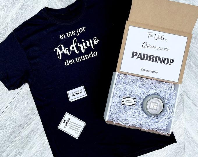Padrino Box - Personalized Padrino Proposal Gift - Will you be My Padrino Box
