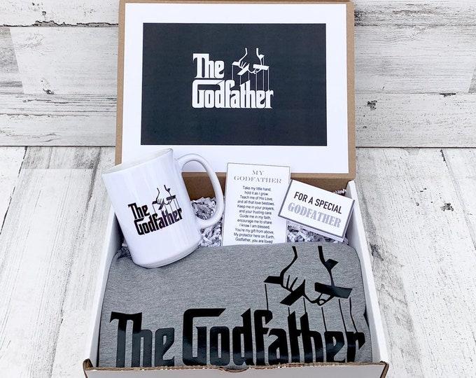 Godfather Box - Personalized Godfather Gift - Will you be My Godfather Box