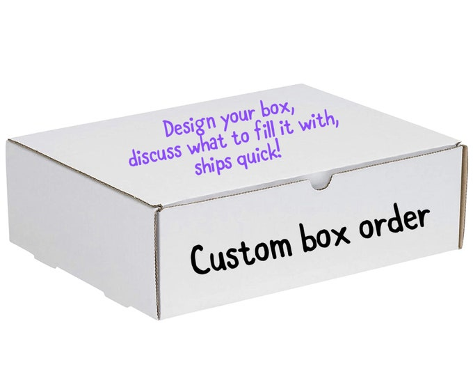 Customized Gift Box - Ordered based on previous discussion.
