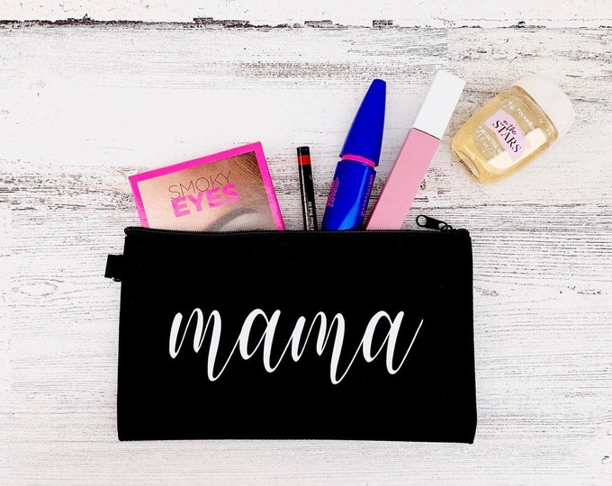 Mama make-up bag - Cosmetic bag with Mama design