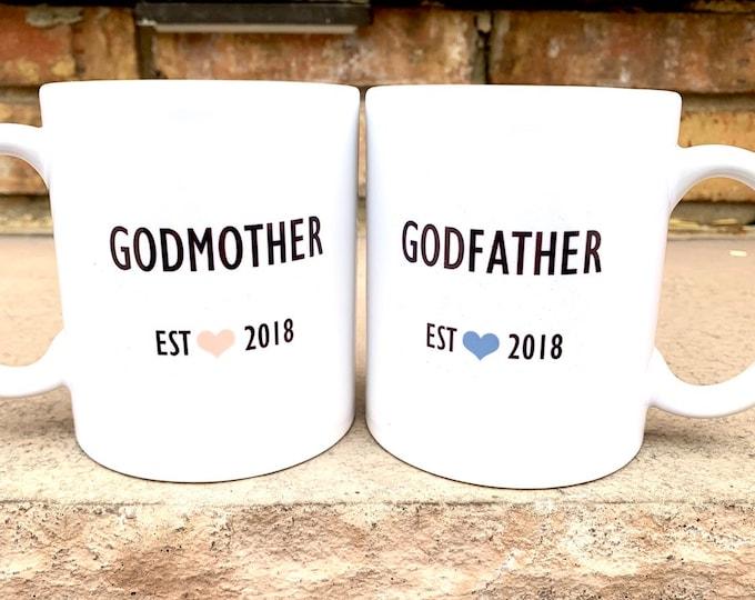 Godparents Gifts - Godparents Shirts - Personalized Godparents Gift - Will you be My Godparents Box