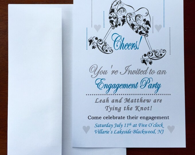 Engagment Party Invitations (Customizable)