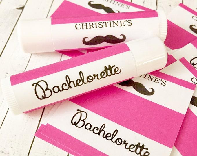 Bachelorette Lip Balms / Chapstick Favors / Last Kiss / Kiss the single life goodbye