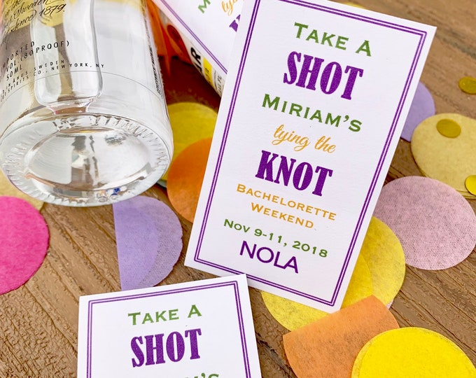 Mini Alcohol Labels for Small alcohol or wine Bottles - Customizable - Favors - Bachelorette Favors
