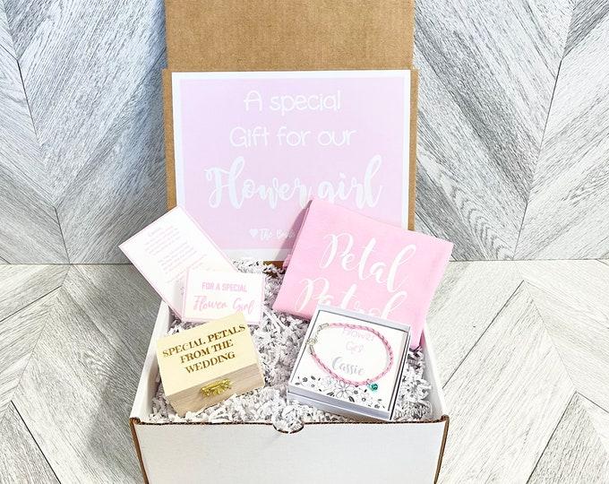 Flower Girl Gift - Flower Girl Proposal - Will you be my Flower Girl - Gift Box