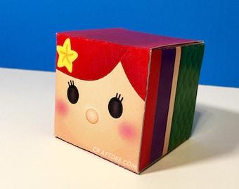 The Little Mermaid Tsum Tsum Favor Box - Little Mermaid Birthday Party