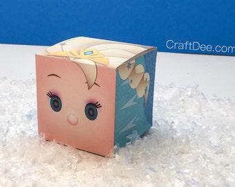Elsa Tsum Tsum Inspired Favor Candy Box - Frozen Birthday Party
