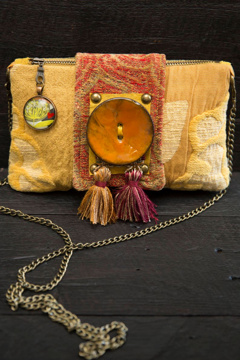 Unique gift. Clutch/cross-body purse. Ready to ship. image 0
