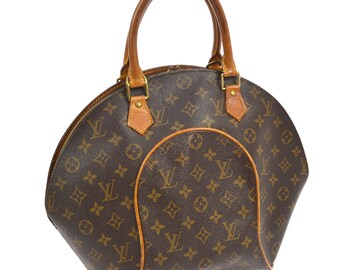 e1d398c92cb0d Authentische Louis Vuitton braun Monogram Canvas Ellipse MM Tote  Handtasche. Louis Vuitton Vintage 1999 Louis Vuitton Schultertasche