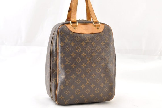 Authentic Louis Vuitton Excursion Brown Monogram Canvas   Etsy af8c72ffbe
