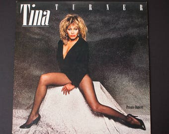 TINA TURNER | Private Dancer - 1984 | Vintage Vinyl Album | What's Love Got To Do With It | Better Be Good To Me