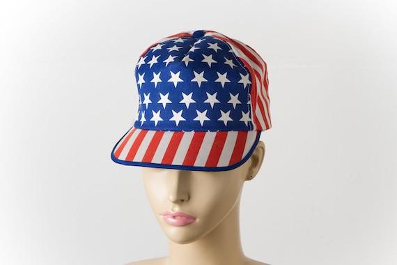 vintage USA trucker hat   80s