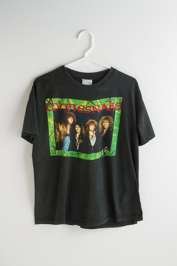 vintage WHITESNAKE t-Shirt 1990s  