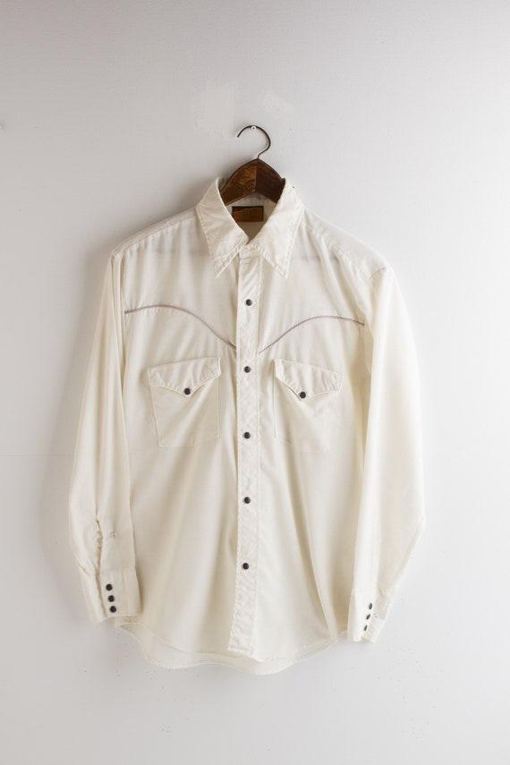 Vintage 70s Cowboy Western Rockabilly shirt