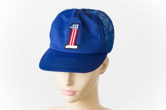 vintage Harley Davidson mesh trucker hat | 80s - image 1