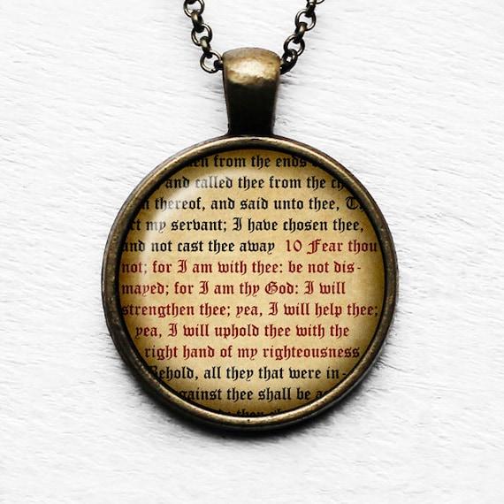 Matthew 21:22 Prayer Believing Ye Shall Receive King James Version KJV Bible Bronze Keychain Keyring