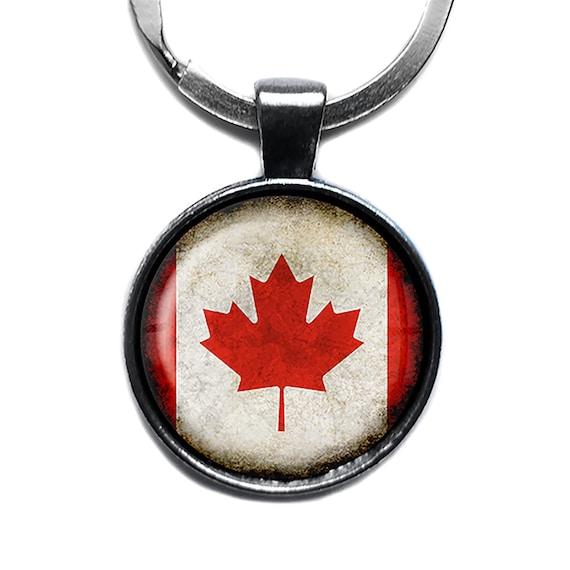 Nov @ Go Gepäckaufkleber Koffer Etikett Flagge Canadian//Kanada