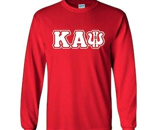 bde436f5c63a Kappa Alpha Psi Fraternity Greek Long Sleeve Tshirt